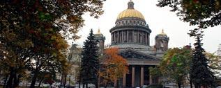 Экскурсионные туры в СПб осенью
